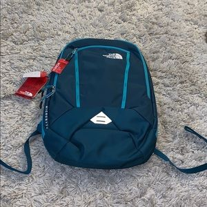 NWT The North Face Microbyte Backpack (Teal Blue)